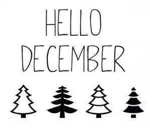 December International Day - Días Internacionales del mes de diciembre